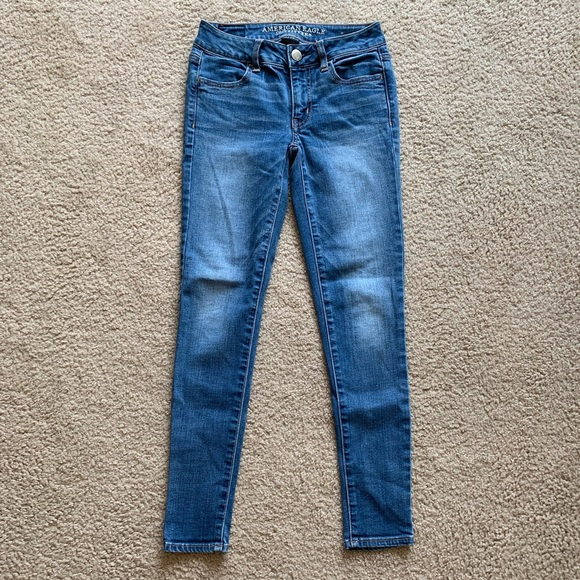 American Eagle Outfitters Denim - AE Super Stretch Jegging Size 0 Short